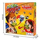 12shage Tongue Spiel Catch Bugs Joint Take Card-Eat Pest Auto Double Game Desktop-Brettspiele Kinder Erwachsene -