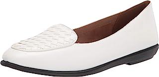حذاء Brielle Loafer نسائي مسطح من Aerosoles أبيض، 8