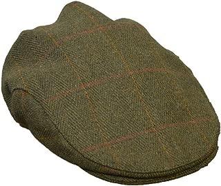 Walker and Hawkes Men's Ladies Derby Tweed Flat Cap Hunting Shooting Countrywear Hat