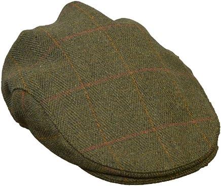 65fd899788a Walker and Hawkes Men s Ladies Derby Tweed Flat Cap Hunting Shooting  Countrywear Hat