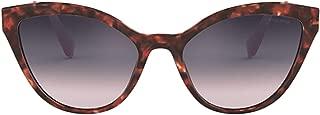 Luxury Fashion   Miu Miu Womens MU03USUE0GR0 Brown Sunglasses   Fall Winter 19