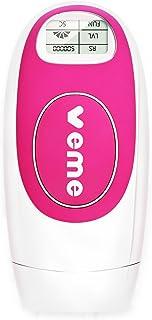Veme 光美容器 家庭用光脱毛器 IPLレーザー脱毛 永久脱毛 フラッシュ式脱毛器 50万回照射 男女全身兼用