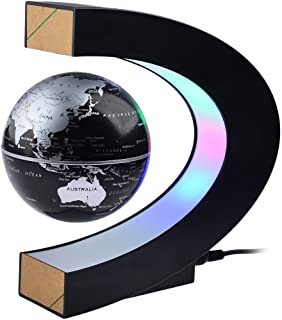 Magnetic Levitation,Petforu High Rotation C Shape Magnetic Suspension Maglev Levitation Globe...
