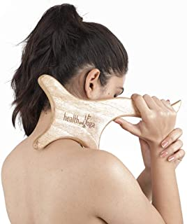 Wooden Gua Sha Massage Tool - Muscle Adhesions and Cellulite Treatment - Soft Tissue Repair and Scar Recovery - Full Body ...