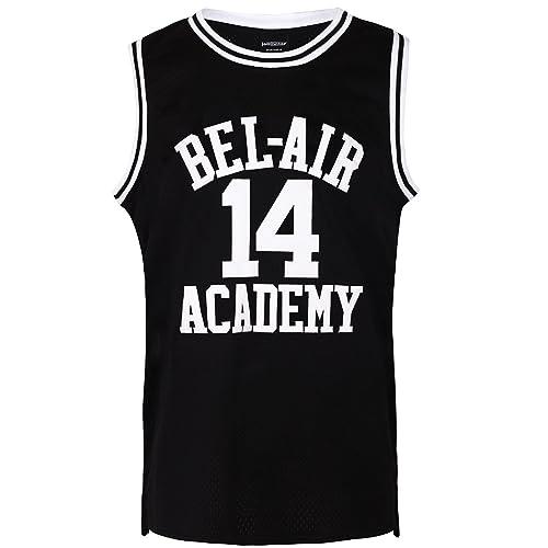 JOLI SPORT The Fresh Prince of Bel Air Basketball Jersey  14 Will Smith  Academy Jersey b4f5d40ac5