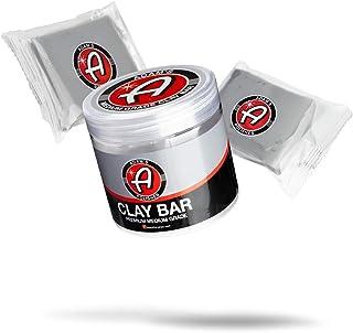 Adam's 100g Clay Bar Jar & Detail Spray Combo - Soft Medium Grade Clay Removes Contamination During Car Wash or Before Pol...