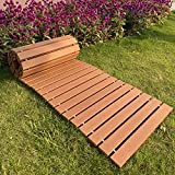 """I FRMMY Outdoor Weather Resistant Straight Pathway for Garden Walkway, Made of PS Wood (8'L x 18"""" W)"""