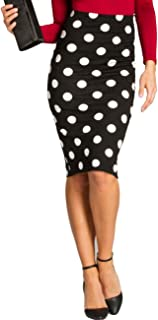 f9d139e9709559 Amazon.fr : jupe crayon taille haute pin up