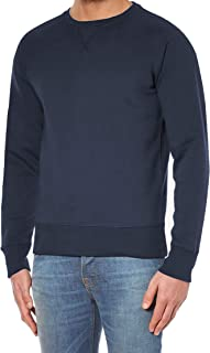 Hann Brooks Mens Cotton Icon Crew Neck Long Sleeve Sweater Sweatshirt Top