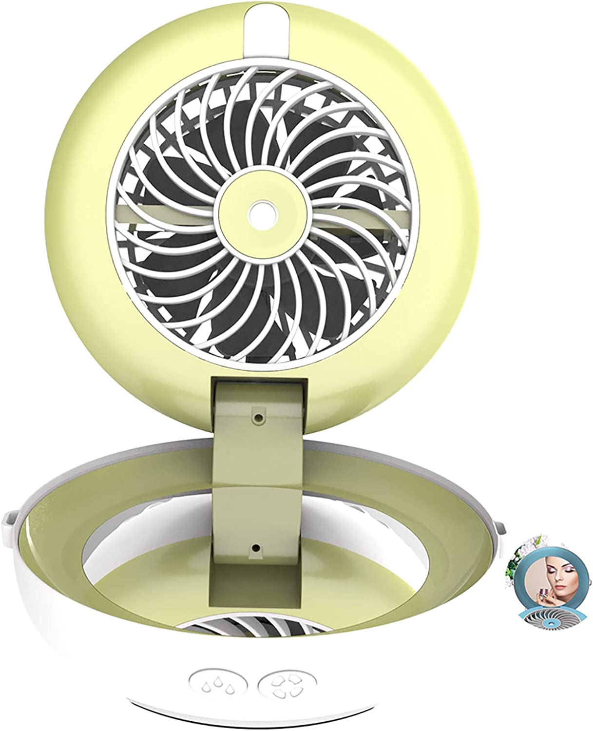 Spray Portable Fan USB Jacksonville Mall Rechargeable Luxury goods Mini Foldable D Personal