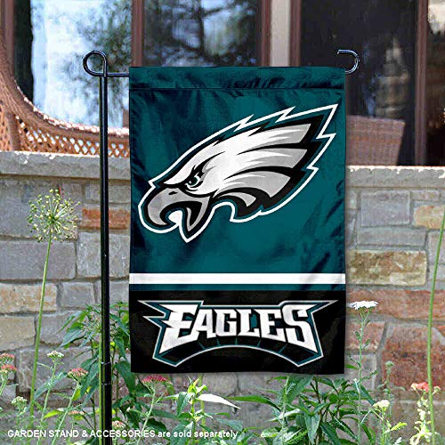 WinCraft Philadelphia Eagles Double Sided Garden Flag