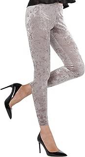 MeMoi Crushed Velvet Leggings | Women's Premium Fashion Leggings