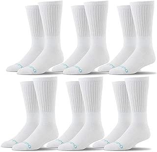 Oddball Men's Crew Socks XXL (Men's Size 14-18) (6-Pack)
