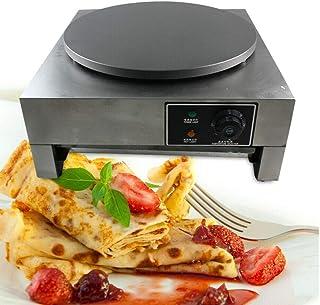 Crepes-Maker Commercial Electric Crepe Maker Kommersiell Crepes Maker 3 000 W 220 V för Pan Cakes, omeletter, palatsink