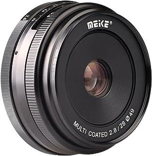 Meike 28mm f/2.8 Manual Focus Fixed Lens for Sony E Mount Digital Cameras ( NEX3