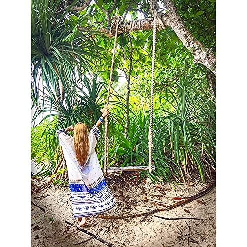 Tyidalin Cárdigans Mujer Florales Largo Vestido Playa Verano Kimono Gasa Maxi Camisolas y Pareos Bohemio (Color 6, Talla única)