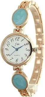 Fashion Jewelry Watch Ladies Gold Rhinestone Mounted Heart Chain Bracecelet Women Watches Diamond Female Whatch Luxury Brands Girl Clock
