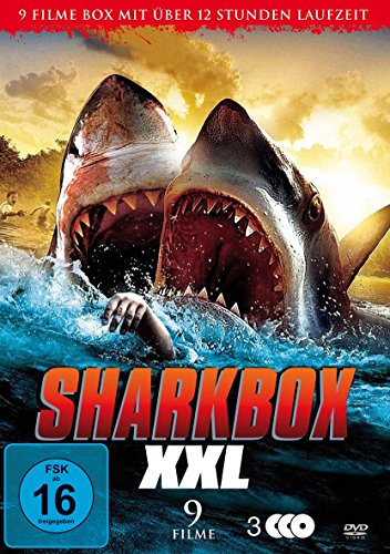 Sharkbox XXL - 9 Filme Box (u.a. Sharknado, 2-Headed Shark Attack) [3 DVDs]