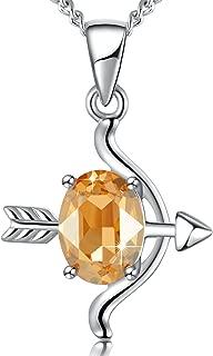 Best sagittarius necklace swarovski Reviews