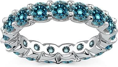 full diamond eternity ring