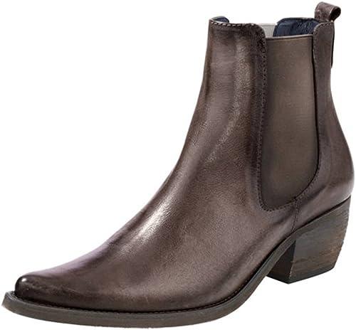 Heine - Stiefel de Piel para damen braun braun