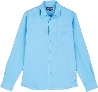 VILEBREQUIN Camisa de Lino Lisa para Hombre