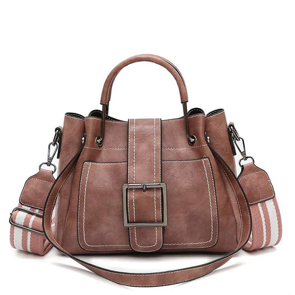 Kingto 女式皮革手提包邮差包手提包手提包单肩包多口袋斜挎包
