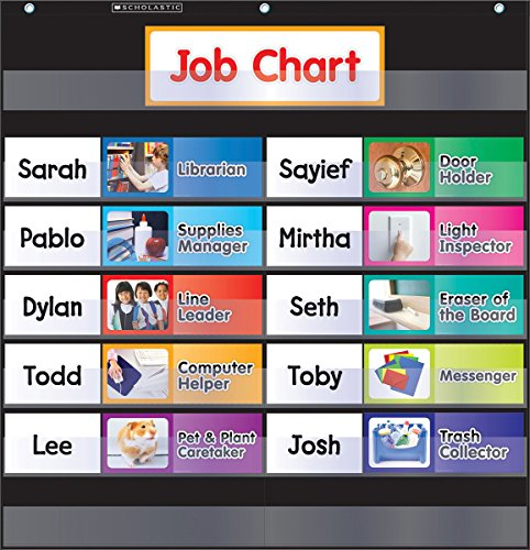 pocket chart jobs - 1