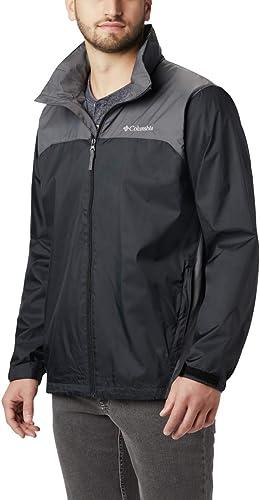 Columbia Hommes's Big & Tall Glennaker Lake Packable Rain veste,noir Grill,2X