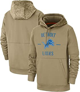 Dunbrooke Apparel Detroit Lions 2019 Salute to Service Therma Pullover Hoodie