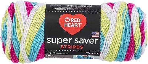 RED HEART Super Saver Yarn, Candy Stripe