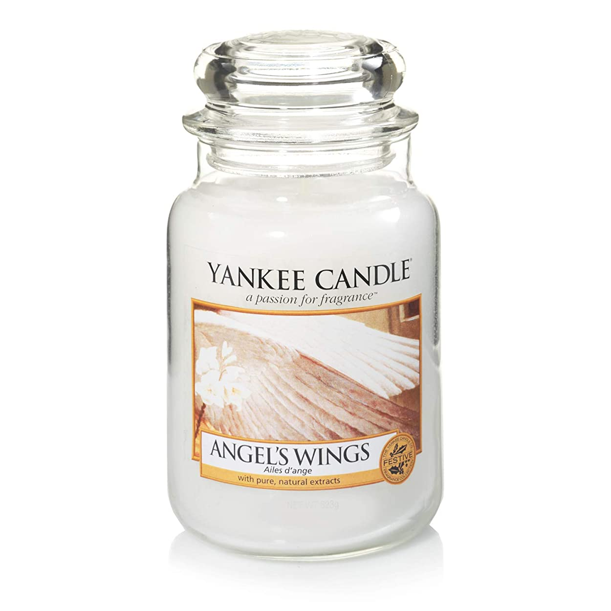 回答グリーンランドのスコアYankee Candle Large Jar Candle, Angel's Wings by Yankee Candle