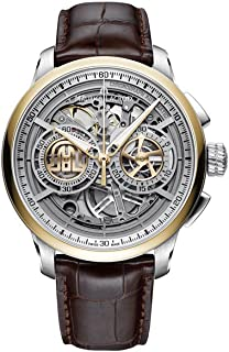 Maurice Lacroix Masterpiece Skeleton Automatic Watch, Chronograph, 24K Gold