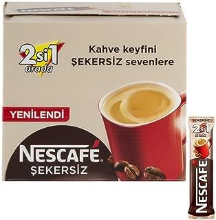 Nescafe 2 in 1 unsweetened 48 sticks