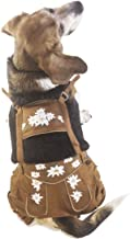 EINSZWEIDOG Oktoberfest German Dog Lederhosen, Multiple Sizes