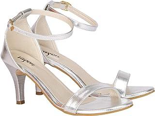 e084b94422 Silver Women's Fashion Sandals: Buy Silver Women's Fashion Sandals ...