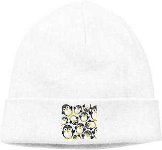 83fead1b43e Manlee Cute Cartoon Penguins Unisex Winter Knitting Wool Warm Hat Daily  Slouchy Hats Beanie Skull Cap