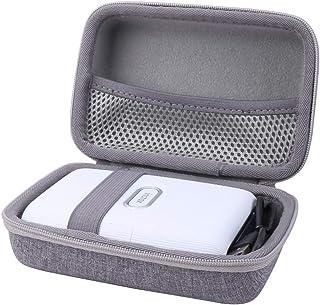 کیف حمل سخت Aenllosi سازگار با چاپگر تلفن هوشمند Fujifilm Instax Mini Link (خاکستری)