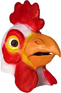Forum Novelties Men's Deluxe Adult Latex Chicken Mask (item may vary from the image on site)