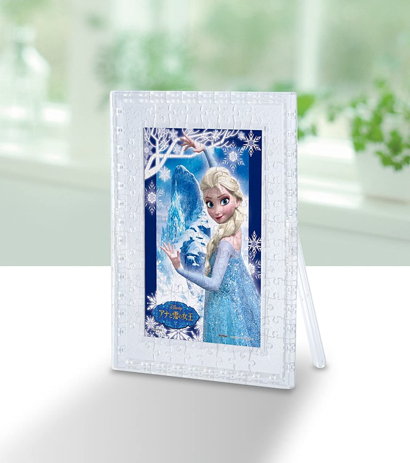 250006 in living color The Snow Queen and the 132 piece puzzle clear stand Ana