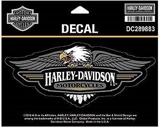 Harley-Davidson Vintage Eagle Logo Decal, MD Size - 6 x 2.5 inches DC289883