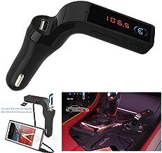 FTXJ Slim Bluetooth Car Handsfree MP3 Player USB Charger FM Transmitter Radio