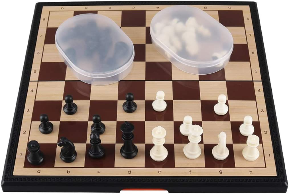 FEANG 11.6'' Chess Set Magnetic Daily bargain sale Pieces Bombing new work Travel Port Folding