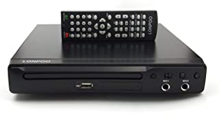 LONPOO Lecteurs DVD Lecteur CD avec Télécommande, MIC, HDMI, RCA, Port USB, Multi Zone..