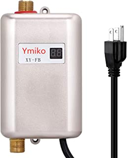 Instant Water Heater,3KW 110V Tankless Electric Hot Water Heater with LCD Display for Bathroom Washing Kitchen Heater