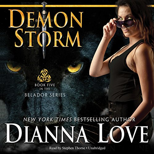 Demon Storm audiobook cover art