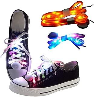 orange led shoes
