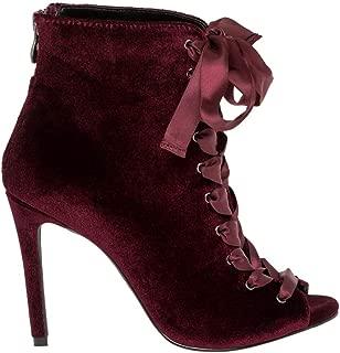 Best burgundy velvet heels Reviews
