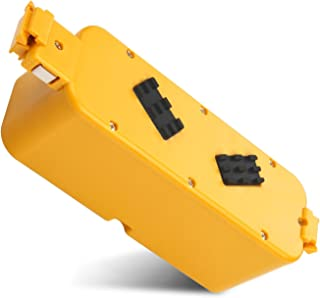 Upgraded 14.4V Ni-MH Replacement Battery for iRobot Roomba 400 Series Roomba 400 405 410 415 416 418 4000 4100 4105 4110 4...