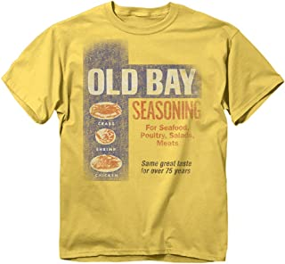 Men's Officially Licensed Old Bay Washed Can Art T-Shirt